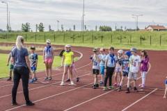 """Dienos sporto stovykla """" Žaiskime, Sportuokime ir Iškylaukime"""" 2020 06 15 - 06 19"""