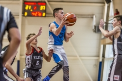 """Lietuvos moksleivių krepšinio lygos rungtynės: """"Molėtų KKSC"""" - """"Sostinės KM 6"""""""