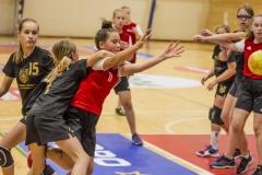 """Lietuvos moksleivių rankinio lygos rungtynės Molėtų KKSC - Vilniaus SM """"Tauras"""" U13"""