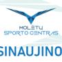 Naujasis sporto centro logotipas